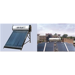 Jain Solar Water Heater (Evacuated Tube Collector)